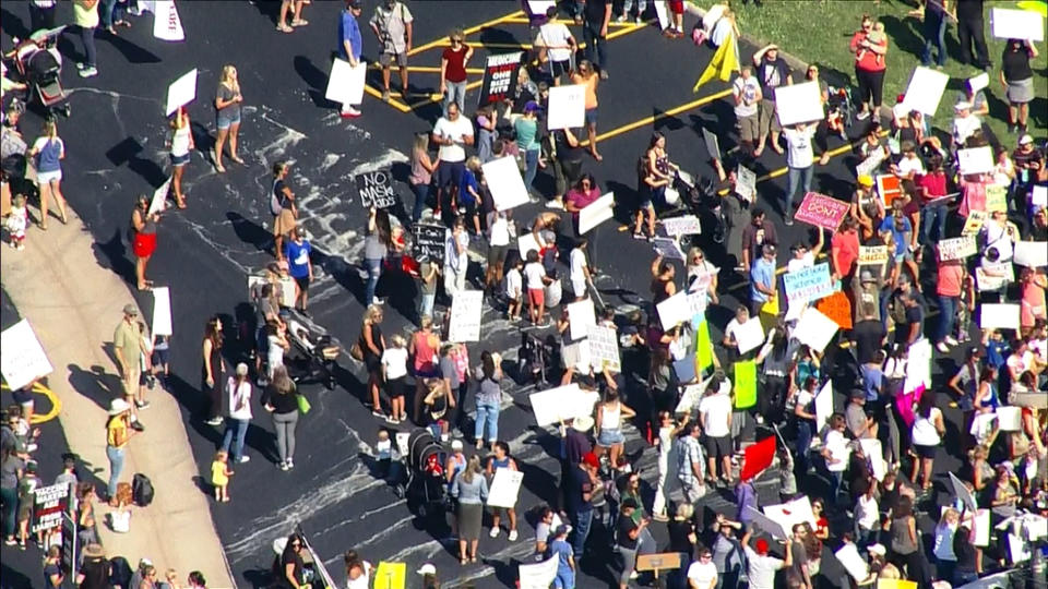 Picture for Jefferson County Parents, Students Protest Against Masks Policy For Schools