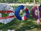 Picture for Wreath laying ceremony held at Memphis National Cemetery for victims of Fort Pillow Massacre