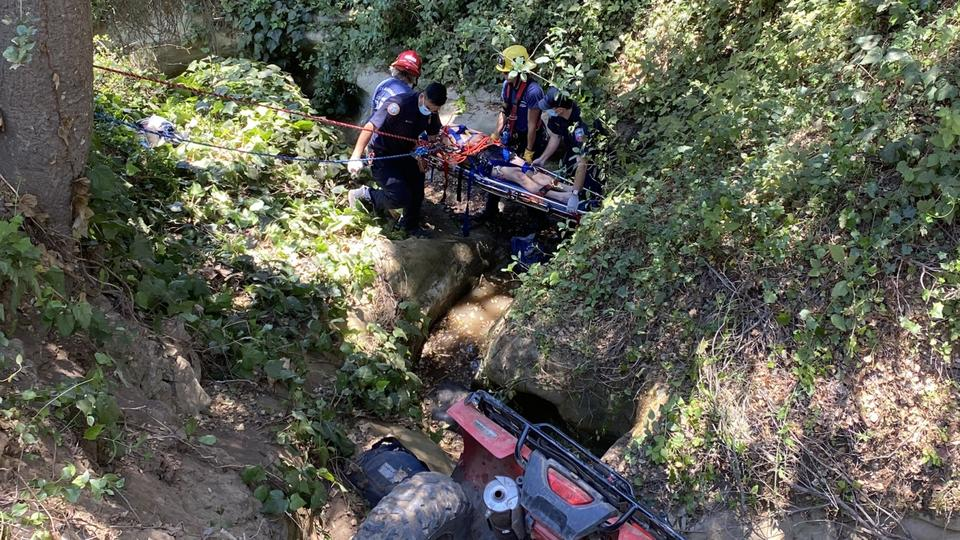 Picture for One seriously injured in ATV crash near Goleta
