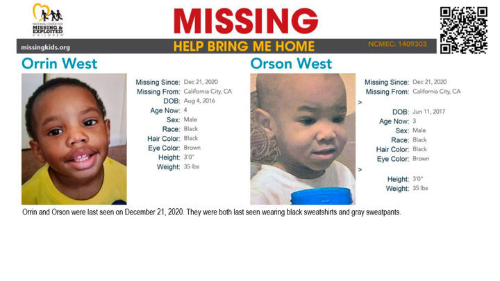 Cover for How did 3- and 4-year-old boys Orrin and Orson West Just Vanish?