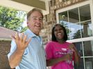 Picture for University of Alabama football players help build a family's dream home