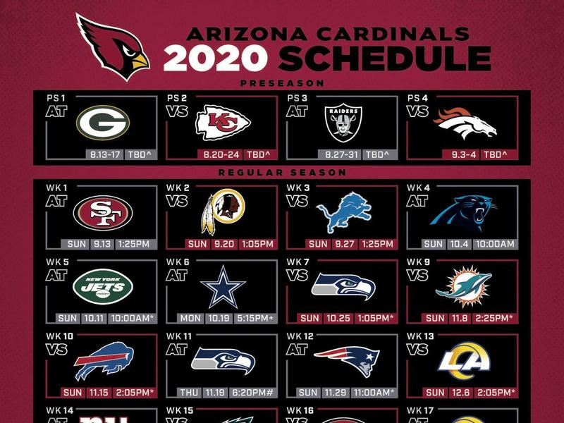 Cardinals release official 2020 schedule | News Break