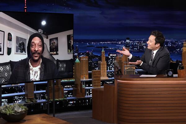 Picture for Snoop Dogg Announces Next Album on 'Tonight Show'... Plus a Def Jam Kids' Album Too: Exclusive Video