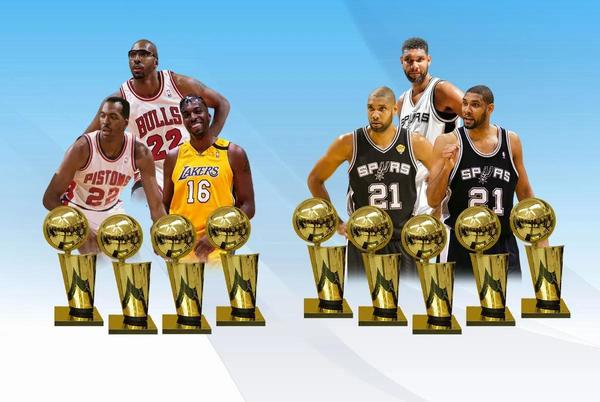 Picture for The Only 2 Players To Win NBA Championships Across 3 Decades: Tim Duncan And John Salley