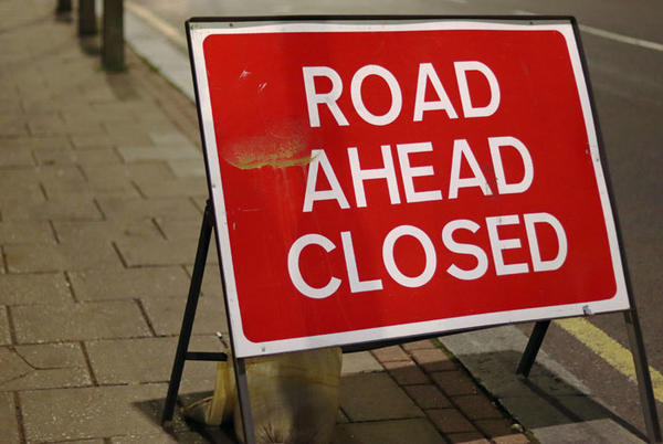 Picture for Rhinebeck road closures on Monday and Tuesday