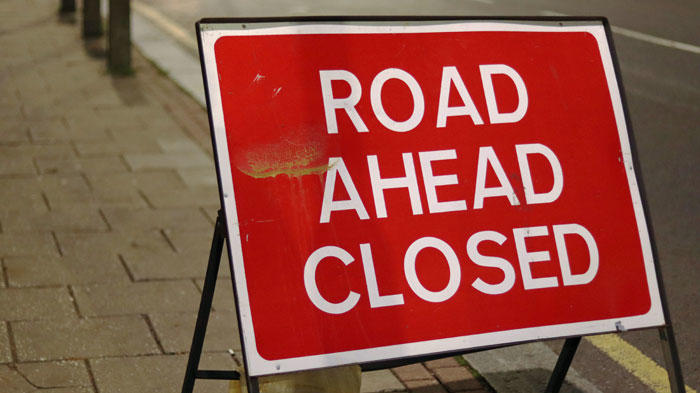 Cover for Rhinebeck road closures on Monday and Tuesday