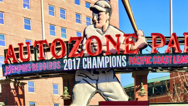 Cover for The Memphis Redbirds are celebrating their fans in a season ending finale series