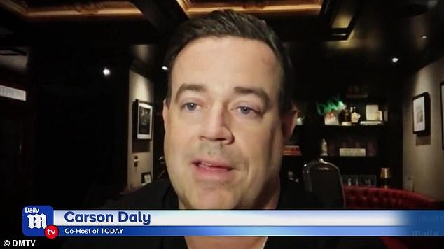 Picture for DailyMailTV EXCLUSIVE: Carson Daly talks mental health struggles and how people can get help in their own lives ... and reflects on his iconic TRL days