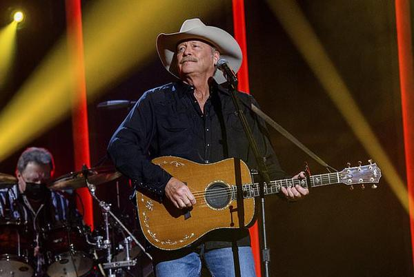Picture for Country singer Alan Jackson reveals he has a degenerative nerve condition that's left him 'stumbling around on stage' - but insists it won't keep him from performing