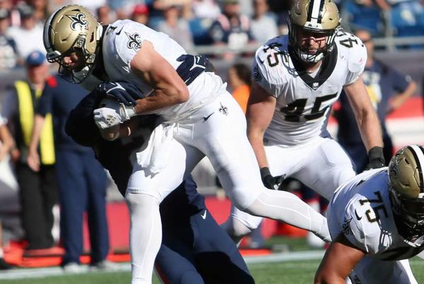 Picture for New Orleans Saints vs. New England Patriots, postgame notes from Week 3