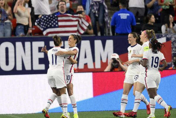 Picture for Colorado's Mallory Pugh shines in return to USWNT play