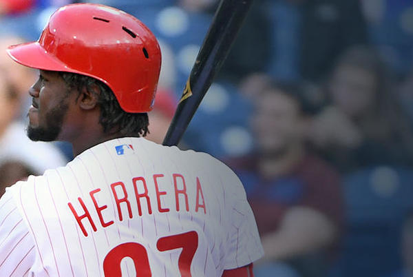 Picture for Phillies' Odubel Herrera: Exits with left ankle soreness