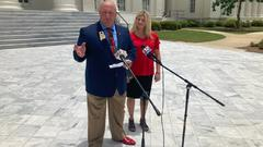 Cover for Kay Ivey challenger Stacy George says governor should not 'belittle' unvaccinated people