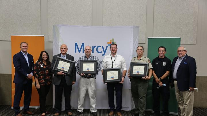 Cover for Mercy recognizes Sebastian County Emergency Management Team