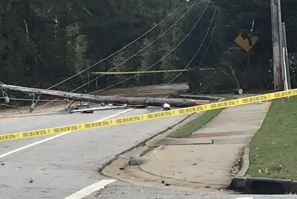 Picture for Georgia Power says some customers could be without power until Sunday night
