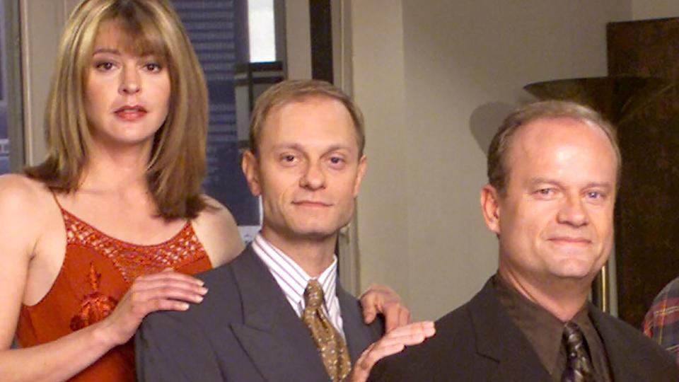 Picture for Frasier reboot: Jane Leeves says she won't leave current TV show to join sitcom revival