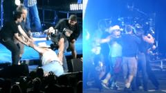 Cover for On This Date: Tim McGraw Pulls Fan On Stage After He Hit A Woman, Ejects Him