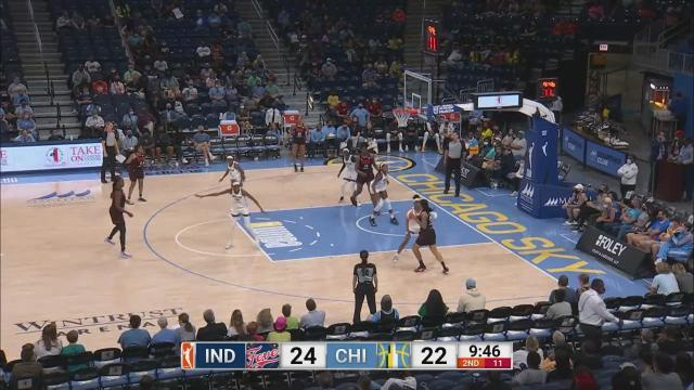 Cover for WNBA Chicago Sky | Diamond DeShields Erupts For Career-High Tying 30 Points In Sky Victory (September 19, 2021)