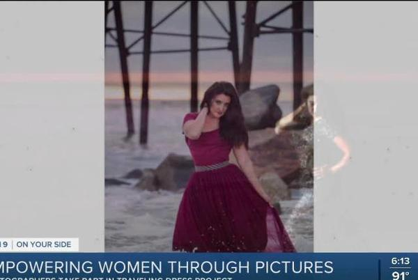 Picture for Photographers take part in traveling dress project