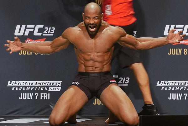 Picture for Yoel Romero opens up on eye injury that delayed Bellator debut, says 'best decision was not to fight'