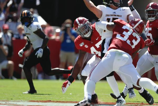 Picture for TV Time and Network Announced for Alabama vs Southern Miss