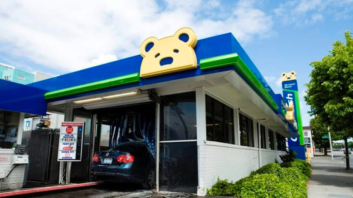Cover for Brown Bear celebrates 64th birthday today with free car washes