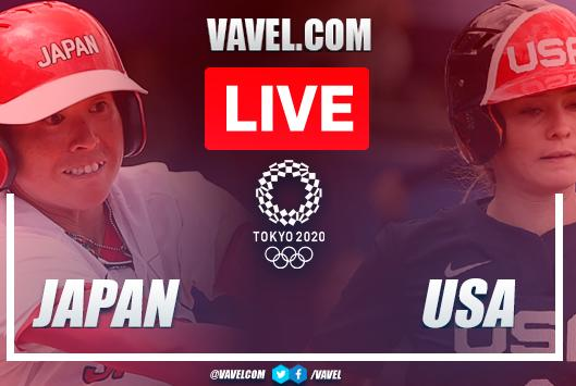 Picture for Japan vs USA: Live Stream and Result Updates in Olympics Softball Gold Medal Game
