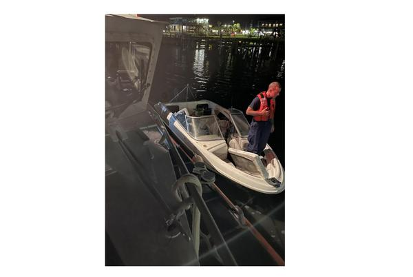 Picture for Coast Guard rescues 2 from vessel near Gulfport