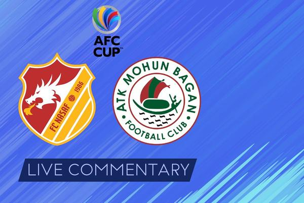 Picture for AFC Cup 2021 Live Commentary: FC Nasaf vs ATK Mohun Bagan