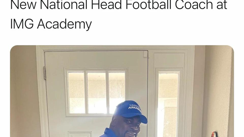Picture for Former Ohio State Linebacker Pepper Johnson Named Head Coach At IMG Academy