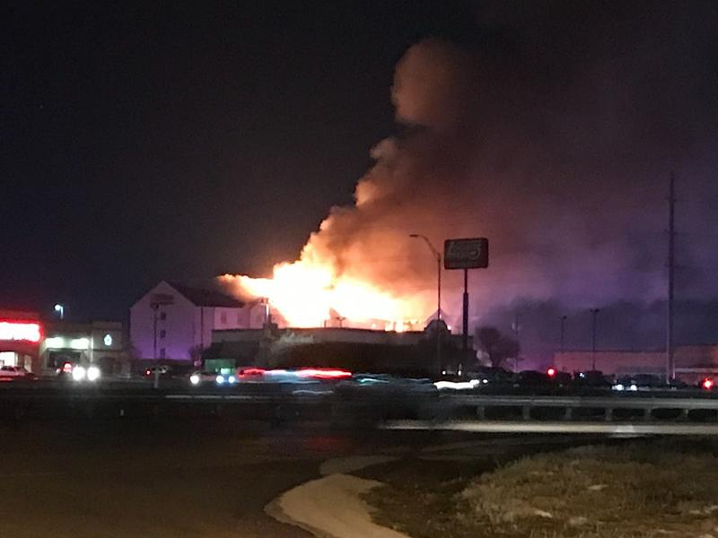 Hundreds of Guests Displaced After Fire Breaks Out at Killeen Hotel in Texas After Sprinkler Systems Failed Due to Frozen Pipes