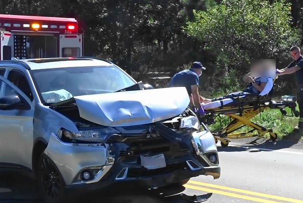 Picture for Video report: Two vehicle crash in Dennis sends 1 person to Cape Cod Hospital