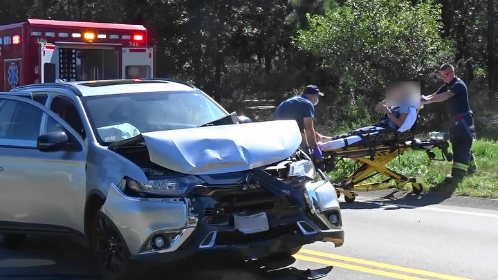 Cover for Video report: Two vehicle crash in Dennis sends 1 person to Cape Cod Hospital