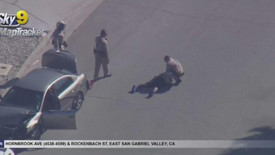Picture for Wild Pursuit Comes To An End With Arrest In Baldwin Park