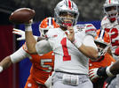 Picture for Ohio State vs. Clemson score, Sugar Bowl: Justin Fields' six TDs send Buckeyes to CFP national title game