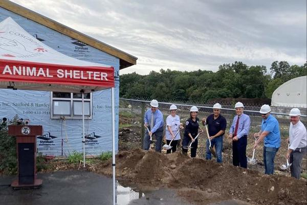 Picture for Groundbreaking Celebrates Cosgrove Animal Shelter Expansion in Branford