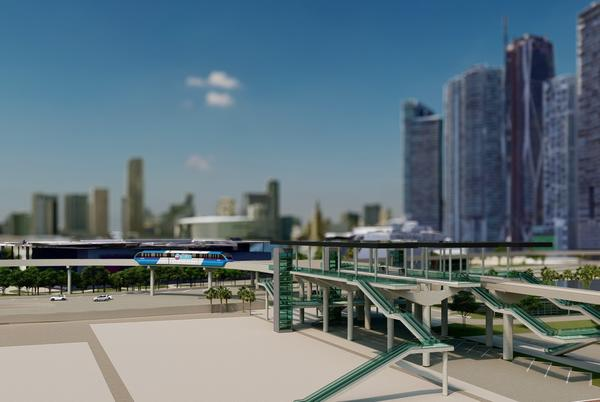 Picture for Resorts World Miami Applies For Monorail Plat