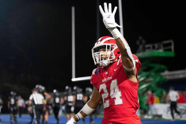Picture for Mater Dei football delivers lights-out performance to beat Servite in enthralling battle