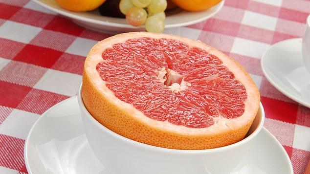 Picture for Eating just HALF a grapefruit a day can keep your brain healthy and slash your risk of suffering cognitive decline, study finds
