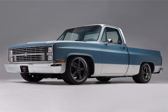 Picture for Problem Child: Tyler Moss' 1984 Chevy C10