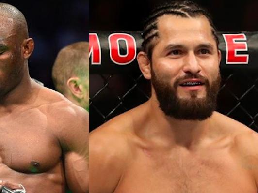UFC welterweight champion Kamaru Usman and top contender Jorge Masvidal are en route to Las Vegas ahead of a potential showdown at Saturday's UFC 25