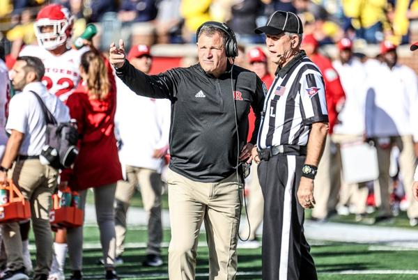 Picture for Rutgers' Greg Schiano on Michigan football in postgame: 'That's a good football team'