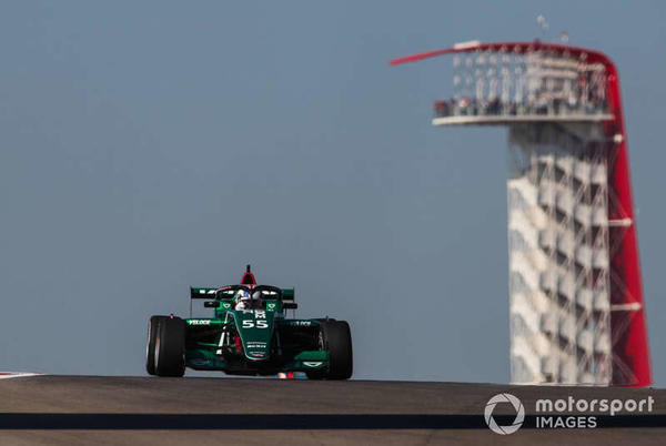 Picture for COTA W Series: Chadwick tops FP1 for season finale
