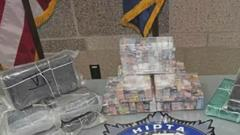 Cover for New Stanton Drug Bust Turns Up More Than $1 Million Worth Of Cocaine And Heroin