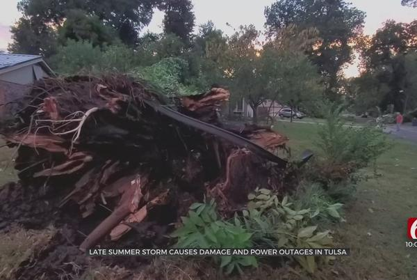 Picture for Late Summer Storm Causes Damage, Power Outages In Tulsa
