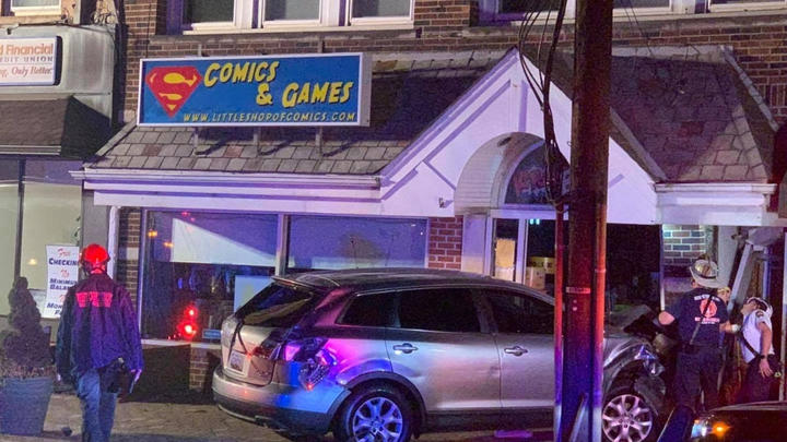 Cover for Morristown Man Crashes Car into Comic Shop in Scotch Plains