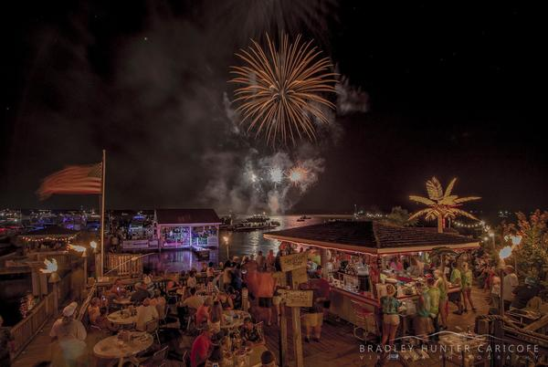 Picture for Tim's Rivershore Restaurant and Crab House hosting final fireworks show Saturday