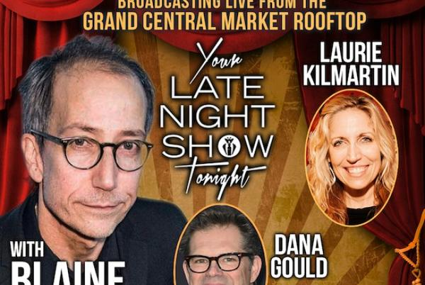 Picture for Quick Dish LA: YOUR LATE NIGHT SHOW TONIGHT Live at DTLA's Grand Central Market & Streaming on Nowhere Comedy Club 9.17