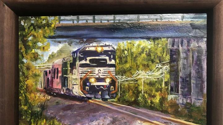 Cover for Artist show planned in downtown Warrenton