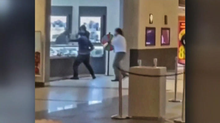 Cover for VIDEO: Smash-and-Grab Thieves Steal Jewelry at Serramonte Center in Daly City